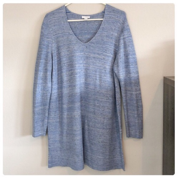 J. Jill Tops - 💕Beautiful Light Blue Knit Tunic Long Sleeved💕